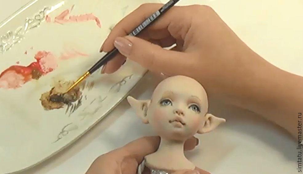 Мастер класс по созданию кукол из полимерной глины 196